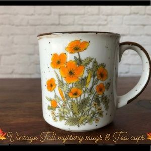 🍁Mystery Vintage Mug /Tea cup purchase 🍁Final$🤓